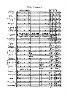 Реквием: No.4 Санктус by Джузеппе Верди