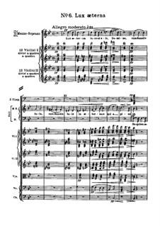 Реквием: No.6 Lux æterna by Джузеппе Верди