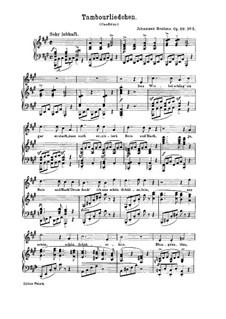 Девять песен и романсов, Op.69: No.5 Песнь барабанщика by Иоганнес Брамс