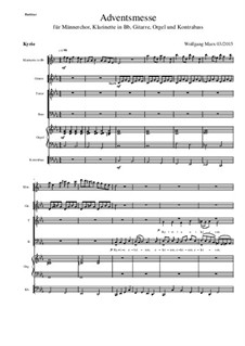 Adventsmesse: Nr.01 - Kyrie by Вольфганг Маркс