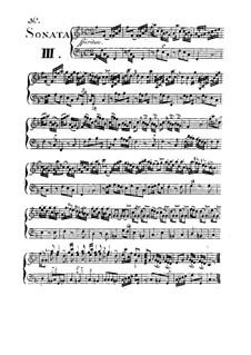 Сонаты для скрипки и баса континуо, Op.1 No.3, 4, 6: Сонаты для скрипки и баса континуо by Франческо Гуэрини