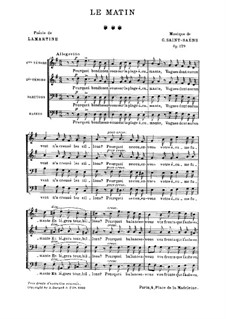 Юность, Op.129: Юность by Камиль Сен-Санс