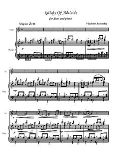 Колыбельная Аделаиды: Для флейты и фортепиано by Владимир Солонский