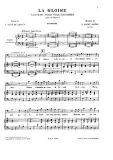 Славься, Op.131: Славься by Камиль Сен-Санс