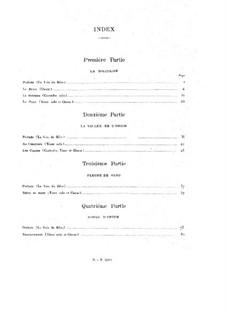 Персидская ночь, Op.26bis: Партитура by Камиль Сен-Санс