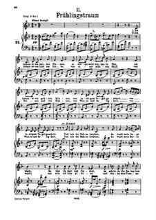 No.11 Весенний сон: Для низкого голоса и фортепиано by Франц Шуберт