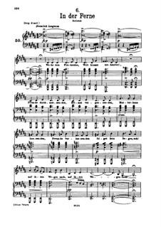 No.6 На чужбине: Для низкого голоса и фортепиано by Франц Шуберт