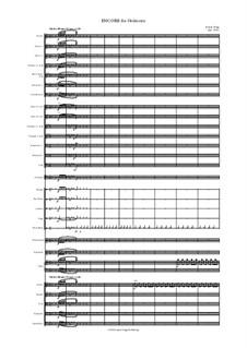 Encore for Orchestra: Encore for Orchestra by Jordan Grigg