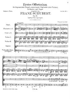 Totus in corde lanqueo, D.136 Op.46: Totus in corde lanqueo by Франц Шуберт