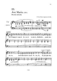 Аве Мария: Для голоса и фортепиано by Франческо Паоло Тости