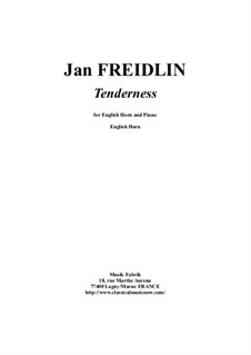 Tenderness: For english horn and piano by Jan Freidlin
