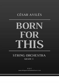 Born for This: Born for This by Cesar Aviles