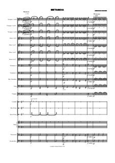 Metanoia to Brass Band: Metanoia to Brass Band by Abraham Maduro