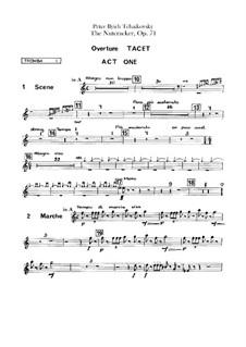Весь балет: Партии труб by Петр Чайковский