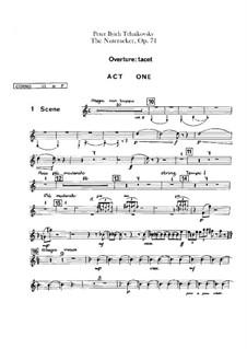 Весь балет: Партии третьей и четвертой валторн by Петр Чайковский