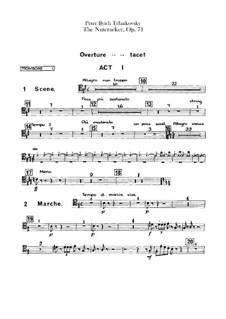 Весь балет: Партии тромбонов и тубы by Петр Чайковский