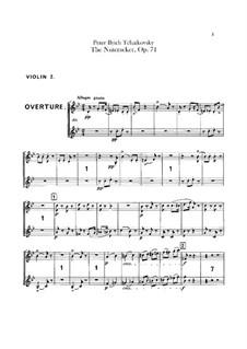 Весь балет: Партия вторых скрипок by Петр Чайковский