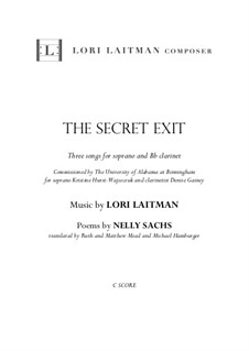 The Secret Exit: The Secret Exit by Lori Laitman
