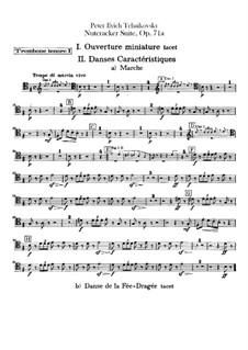 Все части: Партии тромбонов и туб by Петр Чайковский