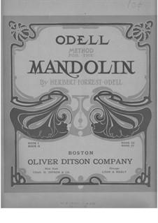 Odell Method for the Mandolin: Book IV by Herbert Forrest Odell