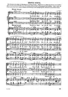 Свадебный хор: Для голосов и фортепиано by Рихард Вагнер