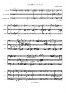 Freilach (Fraylach): For low recorders - bass, great bass and contrabass by Дэвид Соломонс