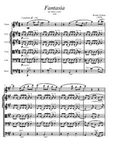 Fantasia per Flauto e Archi: Fantasia per Flauto e Archi by Renato Insinna