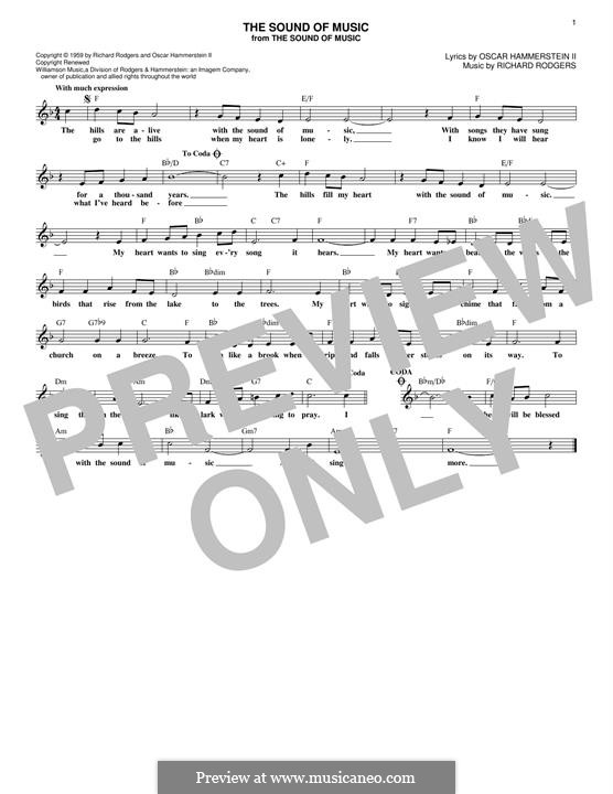 The Sound of Music: Мелодия by Richard Rodgers