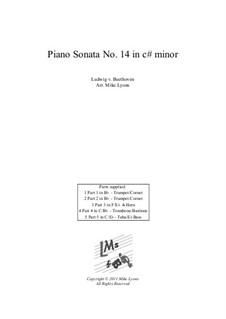 Часть I: Для квинтета медных духовых by Людвиг ван Бетховен