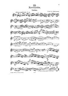 No.20 Новеллетта: Сольная партия by Цезарь Кюи