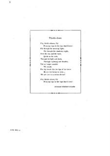 Thistledown, Op.72 No.2: Thistledown by Артур Фут