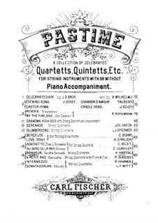 A petits pas. Marcietta for String Quintet, Clarinet and Flute: Партии by Pompilio Sudessi