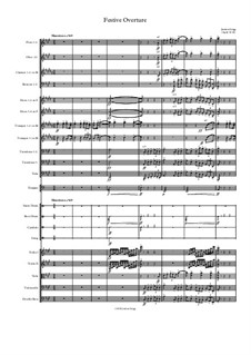 Festive Overture: Festive Overture by Jordan Grigg