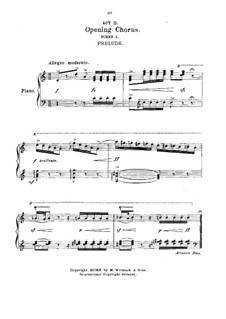 Капризная Мариэтта: Акт II, клавир с вокальной партией by Виктор Герберт