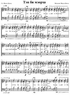 Тэн би мэорха (Пошли Твоё освещение - иврит): Тэн би мэорха (Пошли Твоё освещение - иврит) by Шауль Цвэла