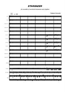 Звездочёт: Для ансамбля духовых by Владимир Солонский