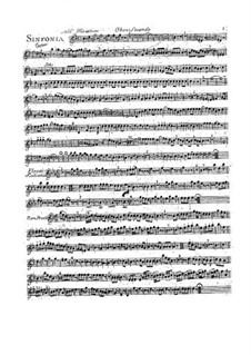 Симфония No.1 си-бемоль мажор: Партия II гобоя by Франсуа Жозеф Госсек