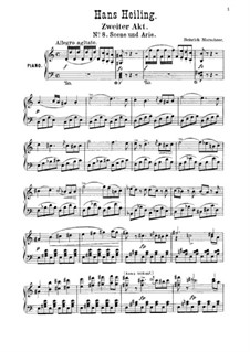 Hans Heiling: Szene und Arie der Anna (No.8) by Генрих Маршнер