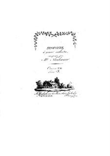Симфонии для оркестра, Op.8: Том III – партии by Франц Кристоф Нойбауэр