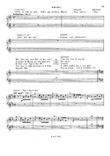 Манон: Часть II. Для фортепиано в четыре руки by Жюль Массне