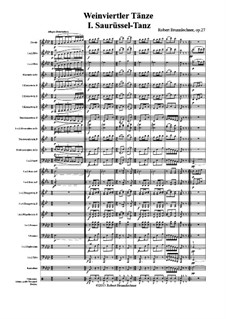 Weinviertler Tänze, Op.27: Weinviertler Tänze by Robert Brunnlechner
