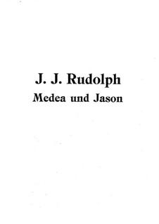 Медея и Язон: Медея и Язон by Жан-Жозеф Родольф