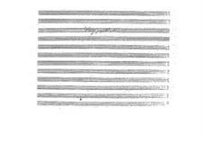 Два этюда для скрипки: Два этюда для скрипки by Алессандро Ролла