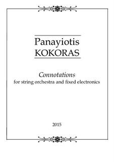 Connotations: Connotations by Panayiotis Kokoras
