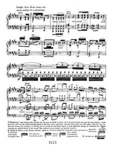 Концерт для фортепиано с оркестром No.3, Op.37: Movement II, for piano four hands by Людвиг ван Бетховен