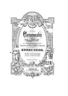 Соната для фортепиано No.5 соль мажор, K.283: Аранжировка для 2 фортепиано в 4 руки by Вольфганг Амадей Моцарт