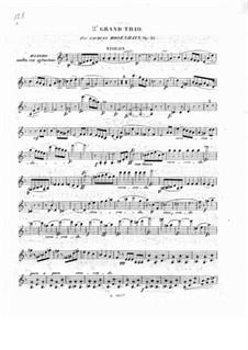 Фортепианное трио No.2 ре минор, Op.32: Партия скрипки by Якоб Розенгайн