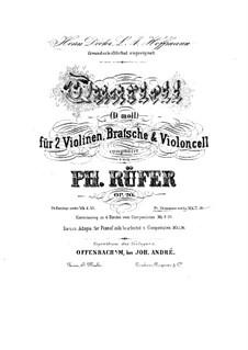 Струнный квартет No.1 ре минор, Op.20: Скрипка II by Филипп Рюфер