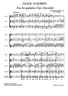 Сакунтала, D.701: Андантино by Франц Шуберт