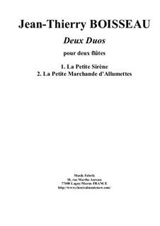 Two Duos: Для двух флейт by Jean-Thierry Boisseau